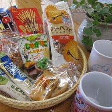 お茶会バスケット(菓子は一例です)