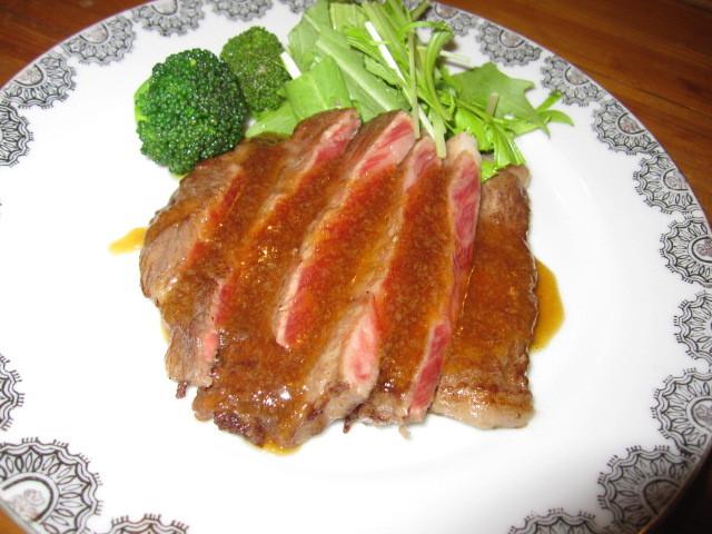豊後牛ステーキ-2