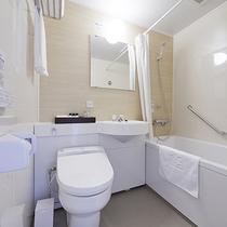【新館リバーサイドツイン18平米】2017年4月OPEN!バスルームも綺麗です♪