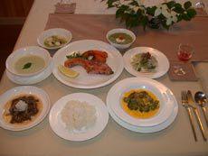 夕食例(ある日の夕食)