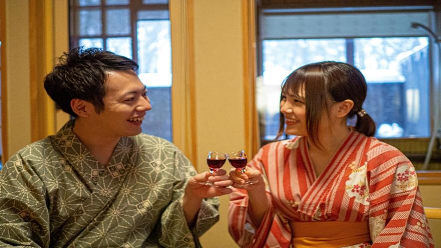 記念日のおもてなし【特製ミニワイン】