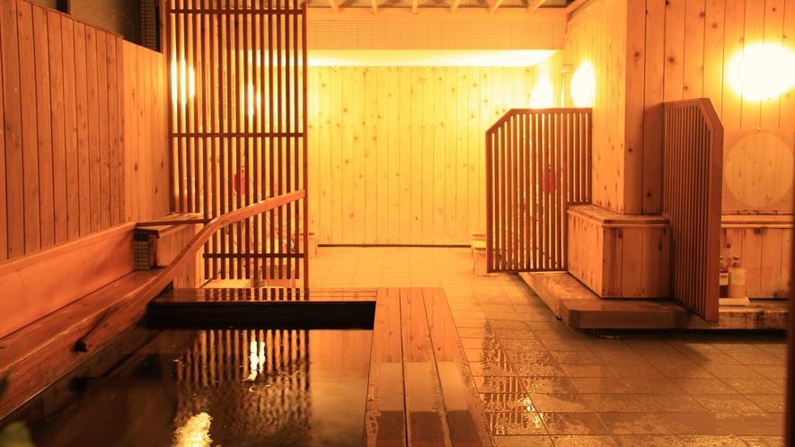 大浴場内風呂【森林の湯】