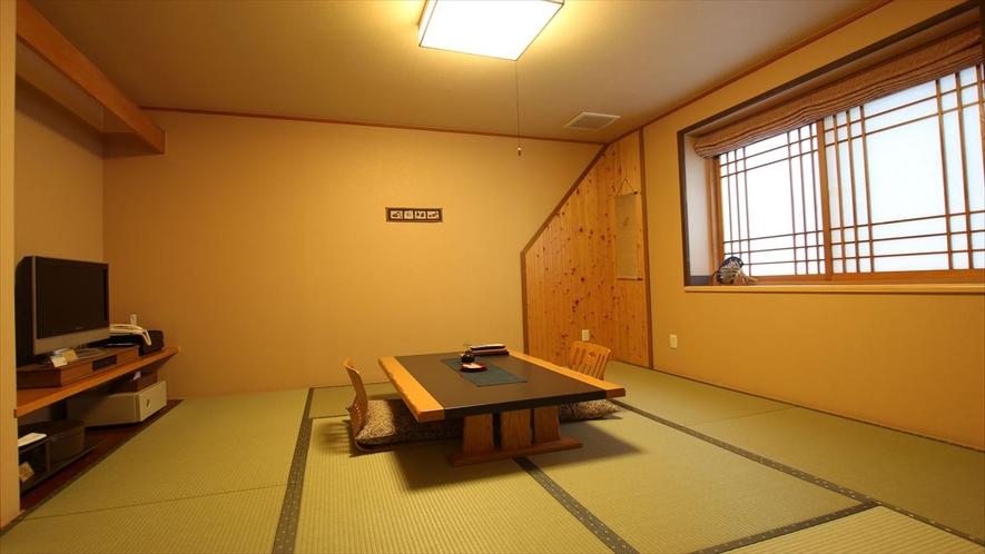 【綿帽子館(スタンダード客室)】8畳タイプ