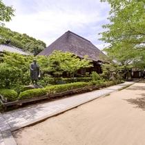 *円通寺公園/良寛和尚が修行したとして有名なお寺。園内には、本堂・開山堂などの寺院や庭園が広がります。