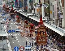 祇園祭り 山鉾巡行