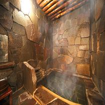 神秘的な洞窟風呂