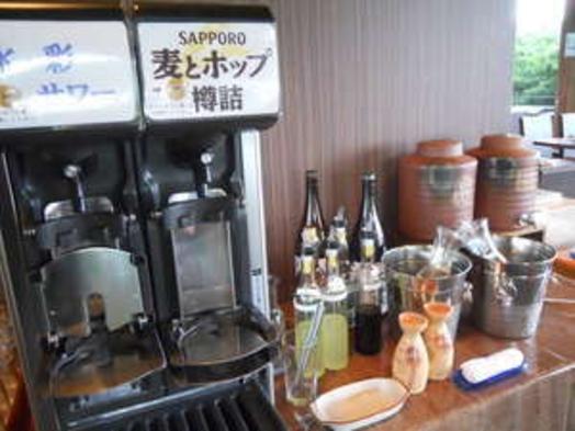 【夏得】【貸切風呂無料】特選海鮮バーベキュー&ハーフバイキングプラン