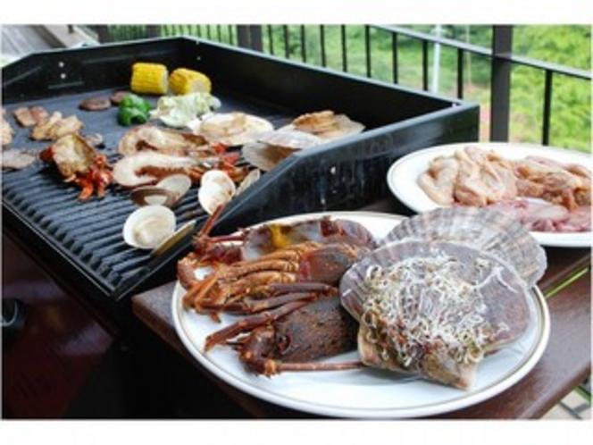 海鮮BBQ