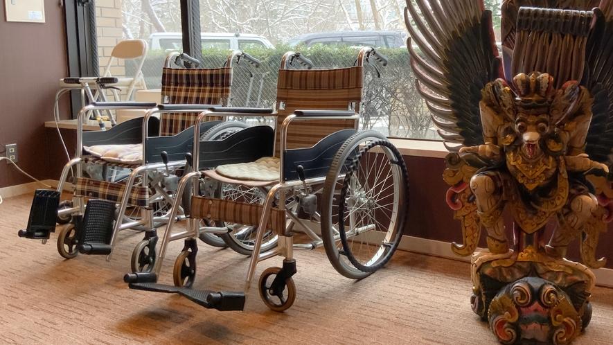 車椅子・シルバーカー(無料)