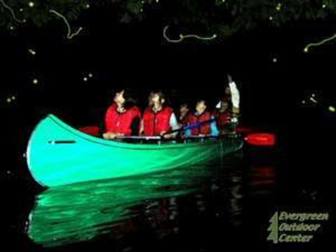 湖上のホタル&満点の星空観賞カヌーツアー