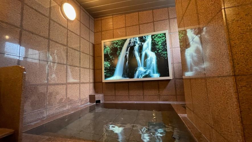 女性浴場【カラン3つ】 効能:リウマチ・神経痛・痔・冷え性・腰痛・疲労回復・うちみ・湿疹