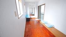 【共同浴場】脱衣所 お部屋が和室利用の方のみご利用いただけます。