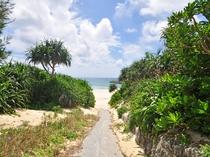 【赤崎海岸】南東に位置する朝日の美しいビーチ