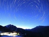 天空のナイトクルージング、夜の谷川岳へ出かけよう