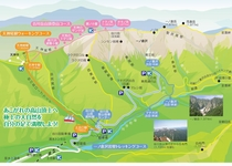 谷川岳ロープウェイマップ