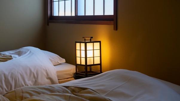 【古き良き情緒を楽しむ岩井屋の和ベッド和室】