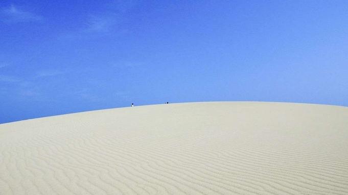 初夏の山陰を味わい愉しむ<ワンドリンク特典付>夏の浦富海岸や鳥取砂丘へ〇花コース