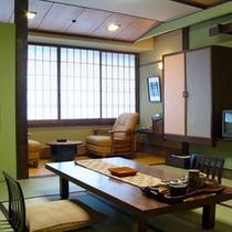 【和室】ゆったりと落ち着いてお過ごし頂けるお部屋。
