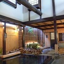 大浴場「祝いの湯」日本百名湯にも選ばれている岩井温泉のお湯をお楽しみ下さい。