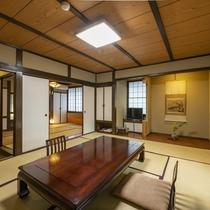【客室】つつましく豊かで温和な気質そのまま、居心地の良い昔ながらの客室。