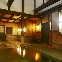 秘湯を守る会に加盟している当館のお湯は全国で194軒、鳥取県で1軒のみ認められた秘湯。