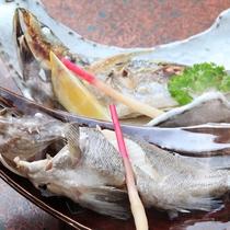 *【夕食一例】南三陸町で採れた魚介類を仕入れているので、とても新鮮!