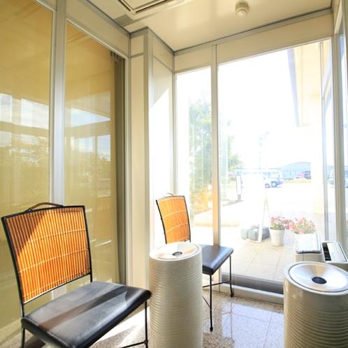 *【喫煙所】全室禁煙にさせていただいておりますので、喫煙スペースご利用ください。