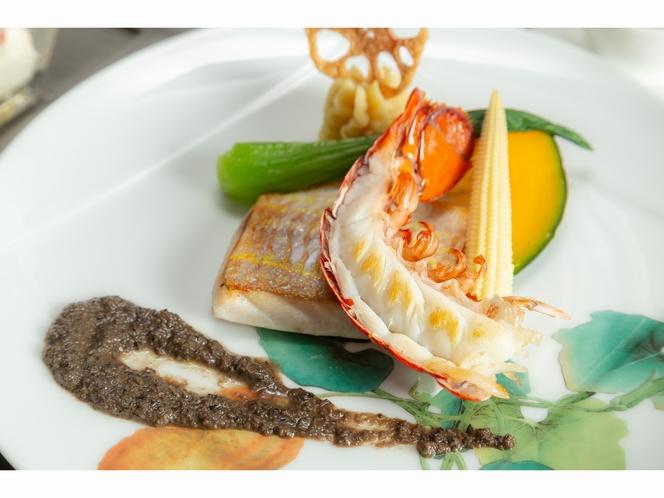 アゼリアコース 鮮魚料理