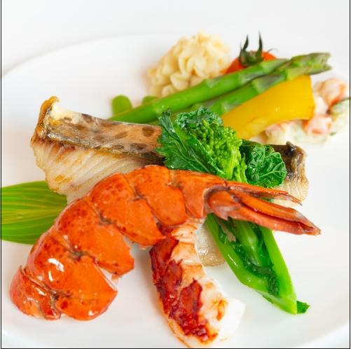 アゼリア メインの鮮魚料理
