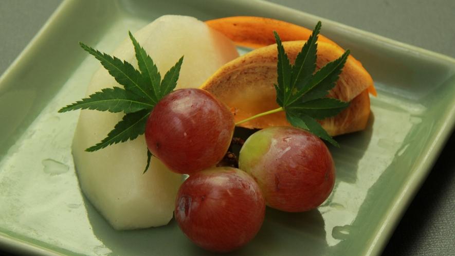 ■【夕食】単品 フルーツ一例