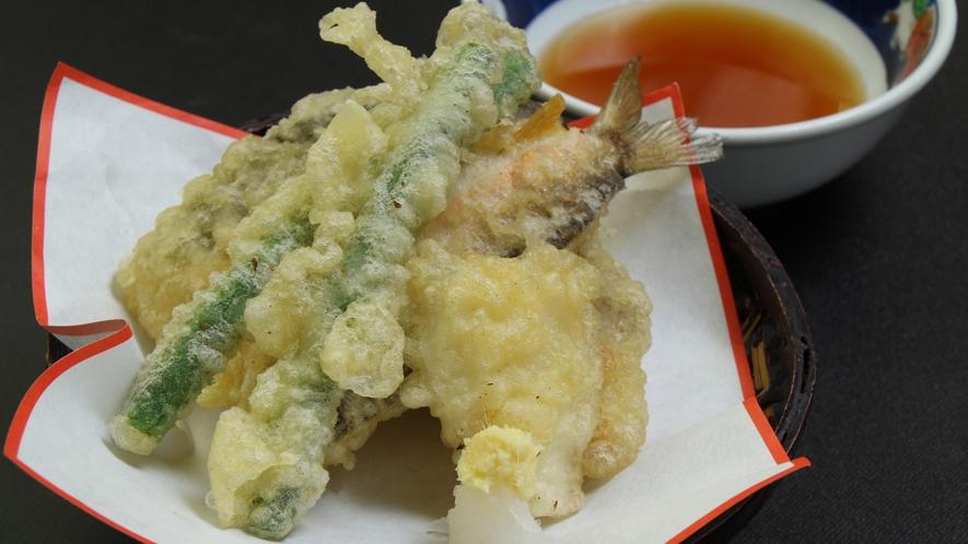 ■【夕食】単品 天ぷら