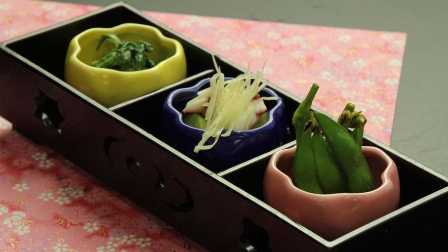 ■【夕食】単品 お食事一例