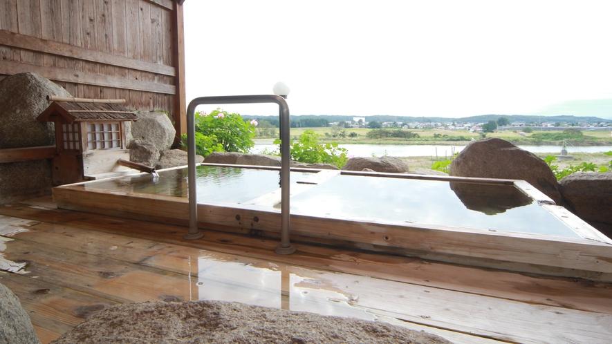 ■【露天風呂】新鮮な空気に包まれて、ほっと安らぐ