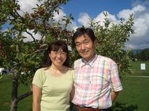 私と妻です。18歳から知り合ってもう・・・年。いつも感謝しています!私の夢に付き合ってくれてありがと