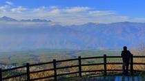 早朝 鼻戸屋展望台にて。どうですか。八ヶ岳テラスから歩いても40分。僕たちの贅沢な散歩コースです。