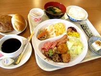 朝食無料サービス(例)