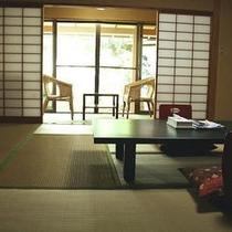 【別館】浴室・ミニ露天風呂付客室例