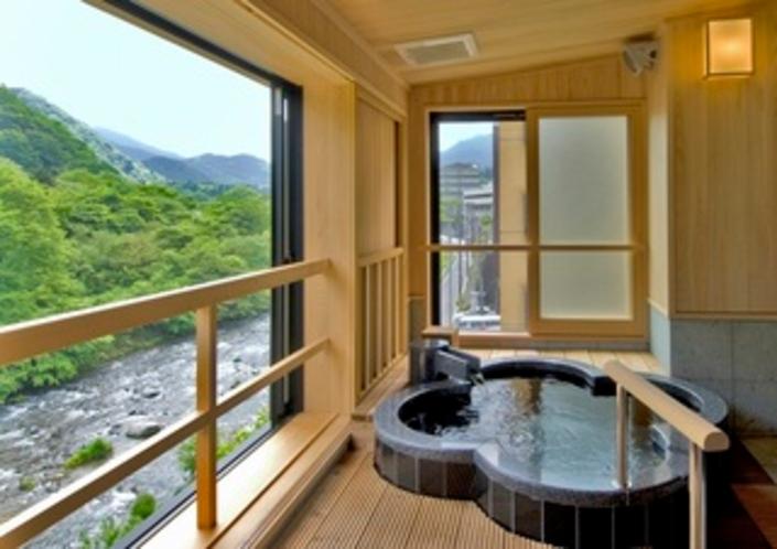 411幸福の間 露天風呂2