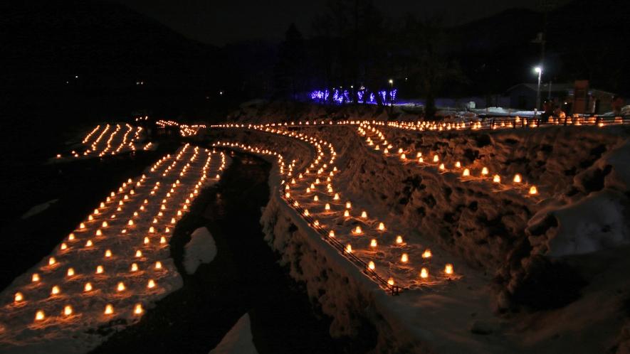 日本夜景遺産「歴史文化夜景遺産」認定イベント湯西川かまくら祭り