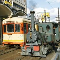 伊予鉄市内電車・バス乗り放題1Dayプラン¥3,100