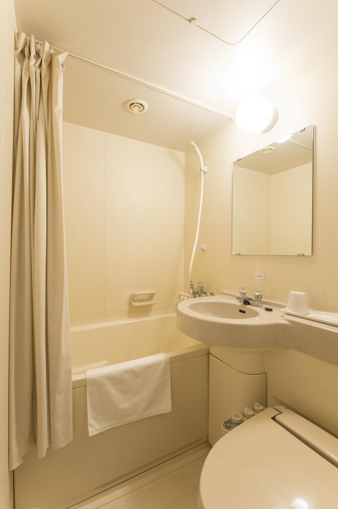 <バスルームの一例>シングルA・シングルB・セミダブル・ダブル・セミツイン・ツインAルーム