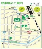 駐車場案内map