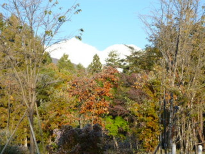 秋の北アルプス