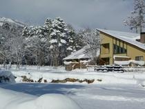 厳冬の北アルプス