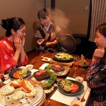 伊豆の四大豪華食材を堪能する美食の夕べ♪