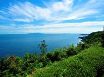 【全室共通】海と大島をパノラマで望む伊豆随一のロケーション