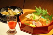【夕食:先付】 (一例)