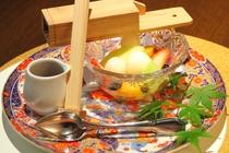 【夕食:水菓子】(一例)