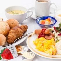 無料!朝食バイキング