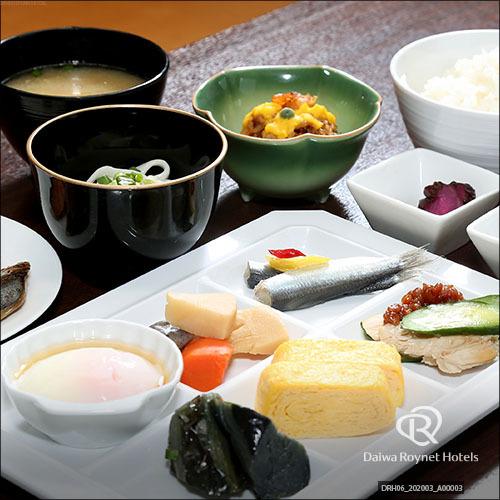 朝食 【Resort】和食一例